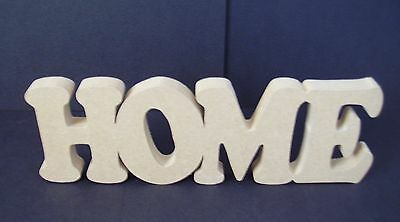 "Free Standing Plaque ""home"""