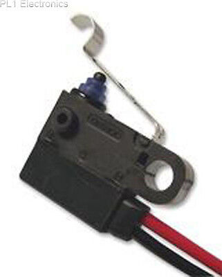 Omron Electronic Components - D2Hw-C272Mr - Microswitch, Seal, Sim Roll Leaf, Sp