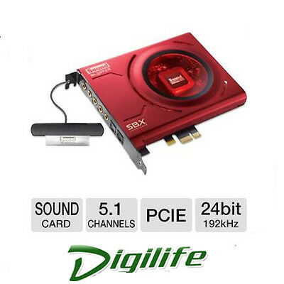 Creative Sound Blaster Z PCIe Gaming and Entertainment Audio sound Card