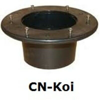 Waste Black Tank Connector Flanged - 5 sizes available