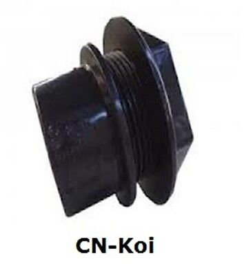 Waste Threaded Black Tank Connector - 3 sizes available