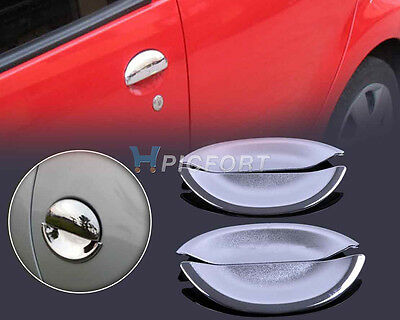 New Chrome Door Handle Cup Bowl for Peugeot 206 206cc