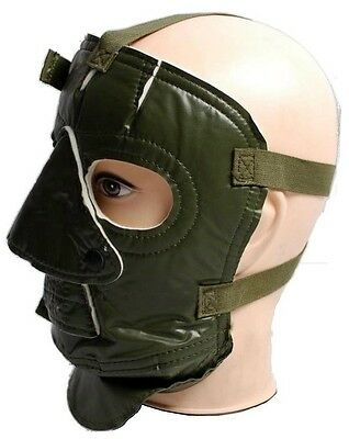 WINTER EXTREME COLD WEATHER PROTECTION FACE MASK OLIVE NEW survival windproof  +