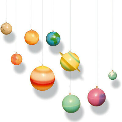 Glow In The Dark Planets - 3D Solar System Space Toy and Glow Star Stickers