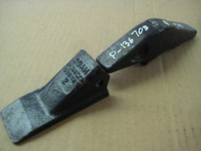 1 New Pengo 20Ah Forged Bucket Tooth And Weld On Shank For Backhoe And Excavtor
