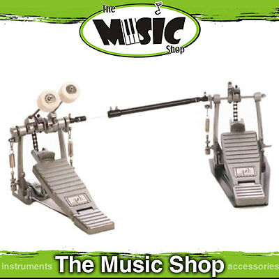 DXP Left Handed Double Bass Drum Pedal - Lefty Double Kick - Free Postage! - New