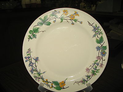 Vintage Woodhill Plate, Made in china:By Citation