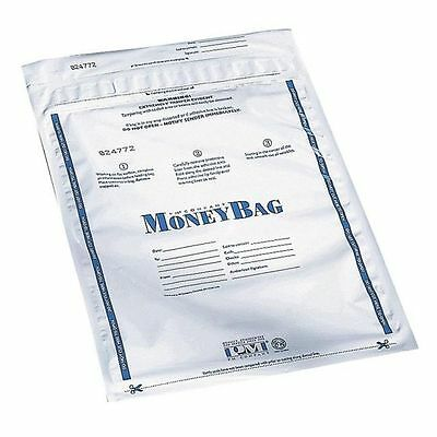 PM SecurIT Plastic Disposable Deposit Money Bag - PMC58001