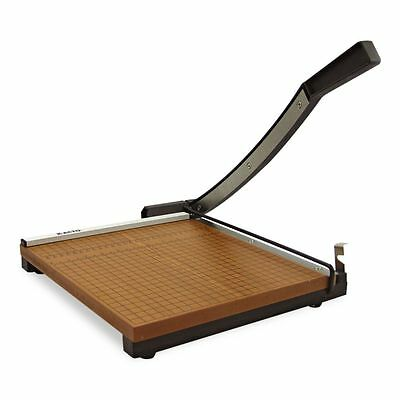 """X-ACTO Wood Base Guillotine 15"""" Paper Cutter - EPI26615"""