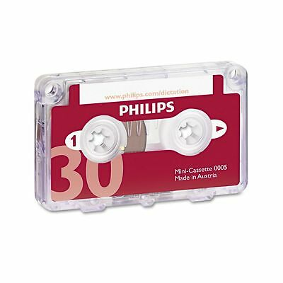 Philips Speech Dictation Minicassette With File Clip - PSPLFH000560