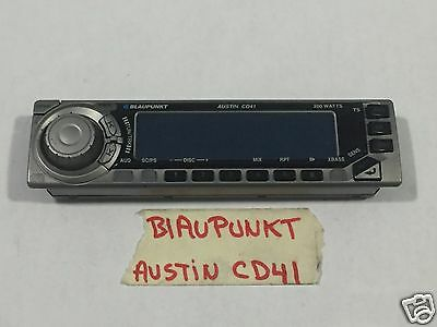 BLAUPUNKT RADIO CD  FACEPLATE ONLY MODEL  CD41 AUSTIN TESTED GOOD GUARANTEED