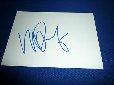 MIKAEL PERNFORS  signed Autogramm In Person 10x15 cm weisse Karte