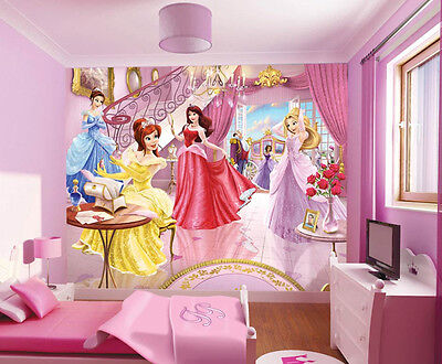 Childs bedroom walltastic sea adventure room decor for Fairy princess mural