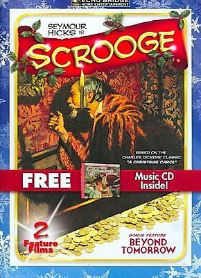 A Classic Christmas: Scrooge/Beyond Tomorrow (DVD 2009, DVD/CD) BRAND NEW SEALED