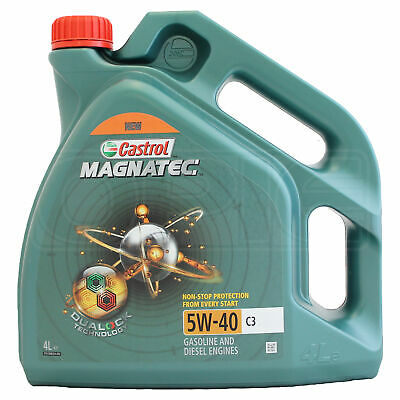 castrol magnatec 5w40 c3 fully synthetic bmw ll 04 oil 4l. Black Bedroom Furniture Sets. Home Design Ideas
