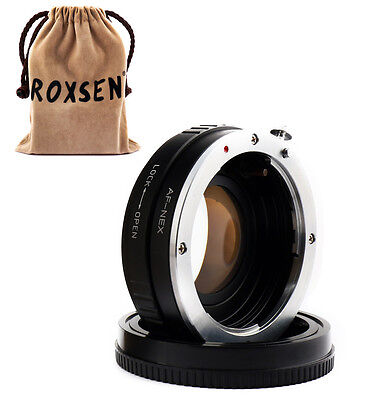 Focal Reducer Speed Booster Adapter Sony Alpha mount AF lens to Sony NEX E A5200
