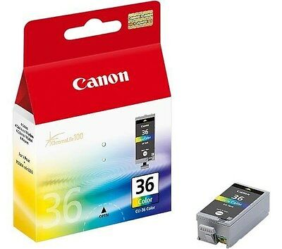 Canon CLI-36C (Colour) Ink Cartridge (Yield 249 Pages)