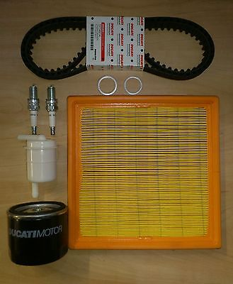 Genuine Ducati Spare Parts Full Service Kit, Timing Belts, Monster 600 750 98-00