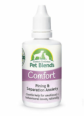 Natural Pet Remedy SEPARATION ANXIETY PINING KENNEL STRESS Dog Cat Horse Comfort