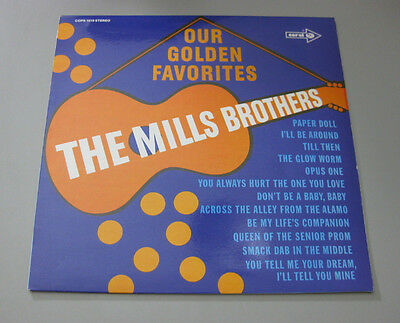 The Mills Brothers - Our Golden Favorites  Coral Reissue Lp