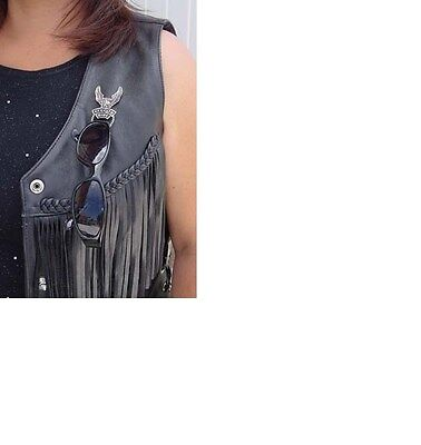 Live To Ride Eagle Pewter Motorcycle Style Sunglass Holder Biker Pins patches