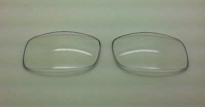 Rayban 2027 Predator II Custom Replacement Lenses Clear Polycarbonate NEW!