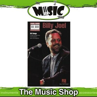 New Billy Joel Piano Chord Songbook Music Book