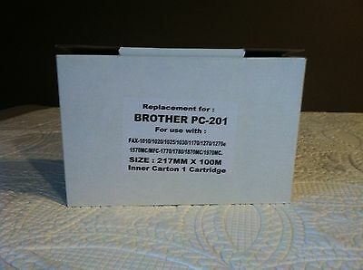 Replacement Cartridge for brother PC-201 fax