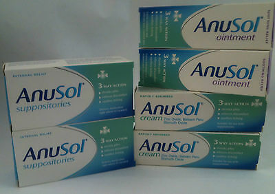 Anusol Suppositories,cream Or Ointment