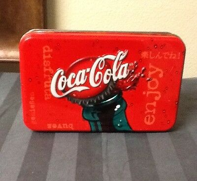 Coca Cola Playing Cards With Tin