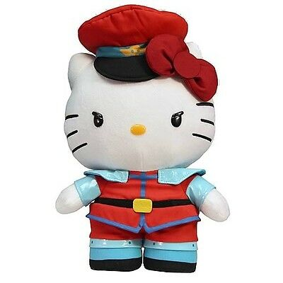 Hello Kitty Street Fighter X Sanrio Plush M.Bison **Brand New**  InStock Now