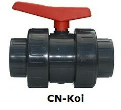 Ball Valve Orange Handle - 6 sizes available