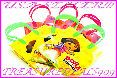 18 PC DORA THE EXPLORER GOODIE GIFT BAGS PARTY FAVORS CANDY TREAT BIRTHDAY BAG