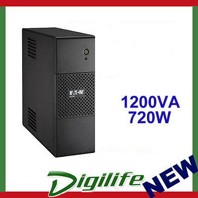 Eaton 5S1200AU 1200VA/750W Line Interactive Tower UPS - With LCD Display
