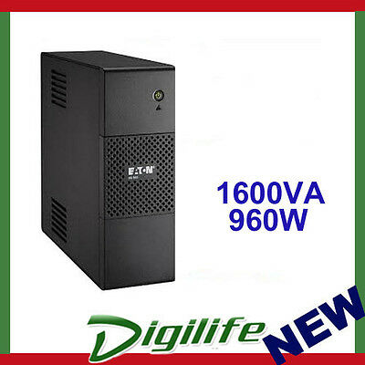 Eaton 5S1600AU 1600VA/960W Line Interactive Tower UPS - With LCD Display