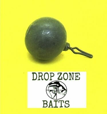 100 Count 1/4 oz Round Drop Shot Sinkers / Weights