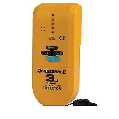 New 3 In 1 Multi Detector, Locates Cable, Pipes, And Studs Metal  Ac Wire Joist