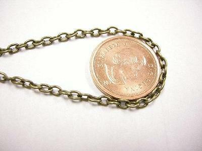 5 feet 3.5x2.5mm antique bronze unsoldered chain-1700A
