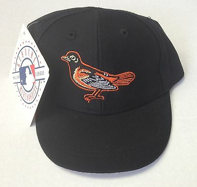 NWT MLB Baltimore Orioles Twins Vintage Infant Elasticback Black Cap Hat  NEW! 2fbe3b79cd2