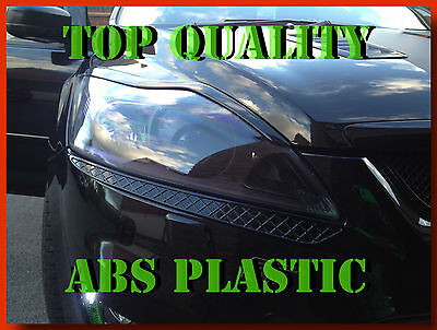 Ford Focus 2 Ii Bargain Facelift Headlight Brows Eyebrows Abs Plastic Tuning