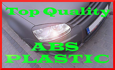 Volkswagen Golf 5 V Headlight Brows Eyelids Eyebrows Abs Plastic Trims Tuning