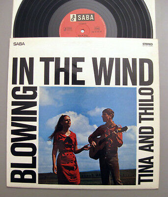 Tina & Thilo - Blowing In The Wind~American Spirituals & Folk Songs Rare Saba Lp