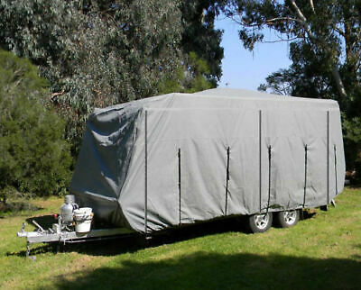 Caravan Cover New Heavy Duty 4 Layer 4.3M to 4.8M PCC16 Travel Accessories Parts