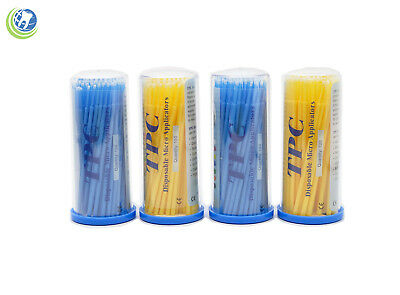Dental Disposable Micro Applicators Brush Bendable Size Fine 400 PCS