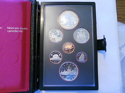 Coinhunters-1981 CANADA RCM- Proof Set with Trans Canada   50% Silver  Dollar