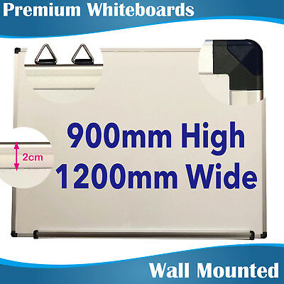 900x1200mm Magnetic Whiteboard Whiteboards White Boards EXPRESS DELIVERY