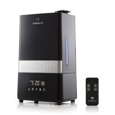 PureMate PM 908 Digital Ultrasonic Cool Mist Humidifier with Ioniser & Aroma Fun