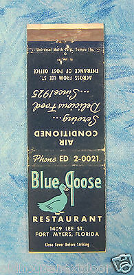 Blue Goose Restaurant, Fort Meyers, Florida,  (VM-20)