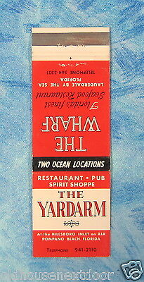 The Wharf Restaurant, & The Yardarm Rest, Pub & Spirit Shoppe,  Florida, (VM-21)