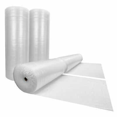 "Bubble Cushioning Wrap Rolls 700' x 48"" Wide - Small Bubbles 3/16"" Perforated"